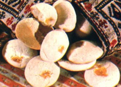 Бадам пури. Азербайджанские пряники