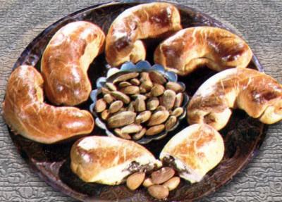 Миндальные трубочки. Азербайджанская кухня