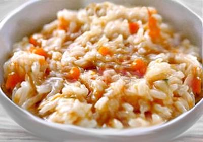 Ризотто с рыбой — традиционное блюдо итальянской кухни.