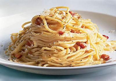 Спагетти с коньяком