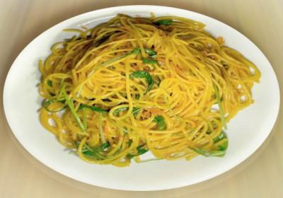 Спагетти с шафраном