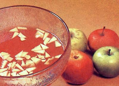 Напиток яблочный с медом