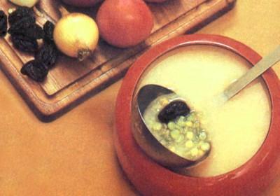 Суп ереванский, Блюда из яблок.