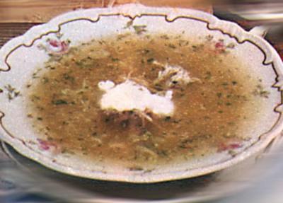 Чорба. Блюдо молдавской кухни
