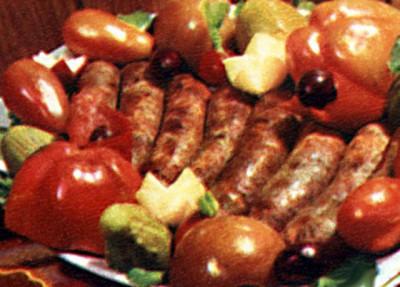 Кырнацеи — молдавские колбаски