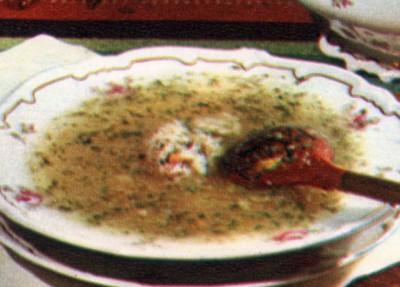 Молдавский суп зама